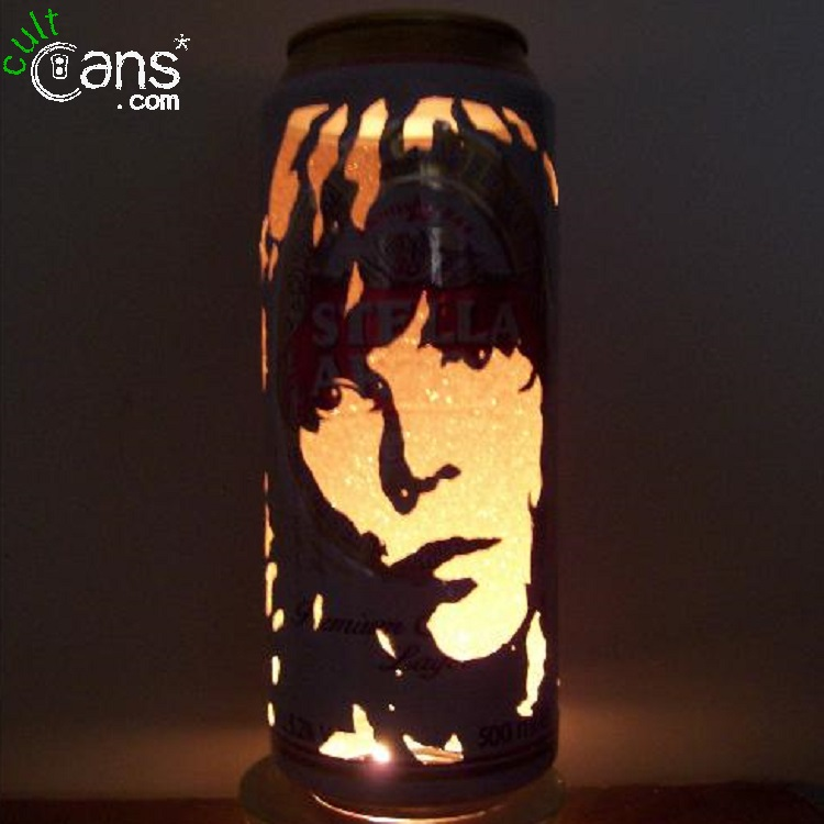 Ian Brown Beer Can Lantern