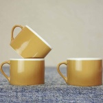 Datia Mustard Short Mug