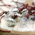 Dew Drop Glass Baubles
