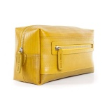 Recycled Fire hose Washbag Yellow