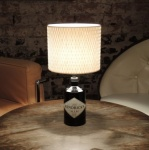 Upcycled Hendricks Gin Table Lamp