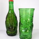Lucky Beer Buddha Glass