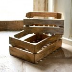 Ahanti Mango Wood Storage Crates