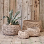 Mendi Short Seagrass Basket
