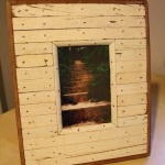 Reclaimed Wooden Photo Frame