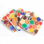 Recycled Tin Coasters