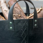 Recycled Tyre Log Basket