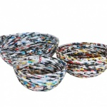 Recycled Magazine Bowls