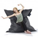 Big Hug Charcoal Beanbag
