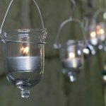 Fire Fly Tear Drop Lantern