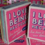 'I Love Being Recycled' Memo Pad