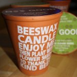Bee Good Beeswax Candle