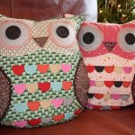 Ethical Owl Cushions