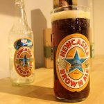Newcastle Brown Ale Drinking Glass