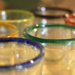Recycled Juicy Shot Glasses