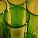 Carlsberg Export Beer Bottle Glasses