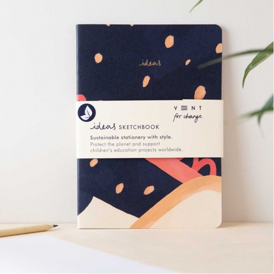 A5 Ideas Blue Notebook
