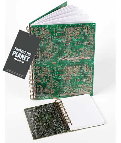 Circuit Board Notepad