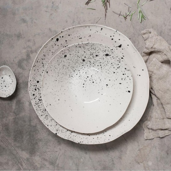 Ama Splatter Serving Bowl