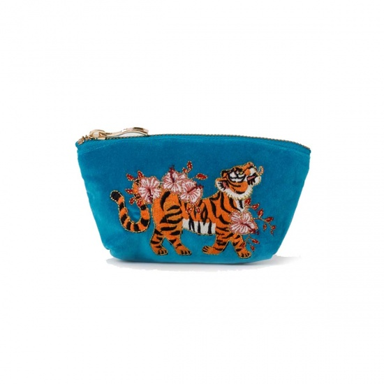 Tiger Azure Coin Purse