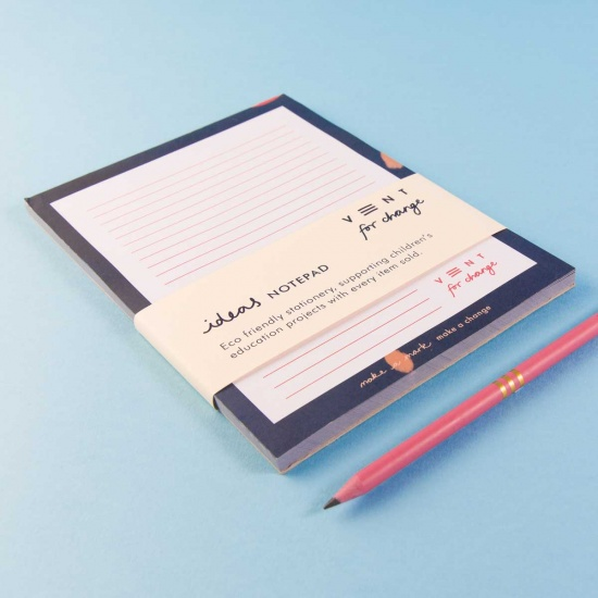 A5 NotePAD - Blue