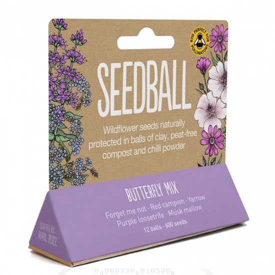 Butterfly Seedball Tube