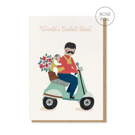 World's Coolest Dad Card