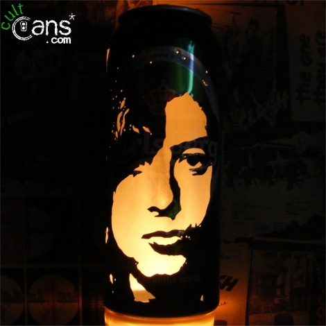Jimmy Page Beer Can Lantern