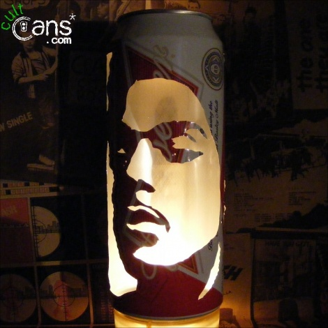 Prince Beer Can Lantern