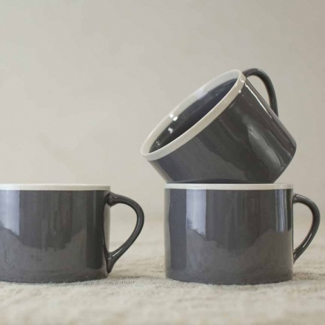 Datia Slate Short Mug