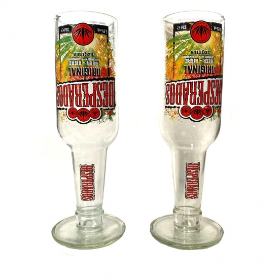 Desperado Goblet Drinking Glasses