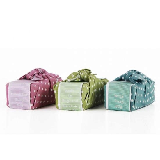 Dotty Wrapped Soaps