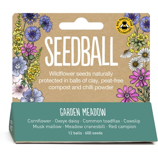 Garden Meadow Seedball Tube