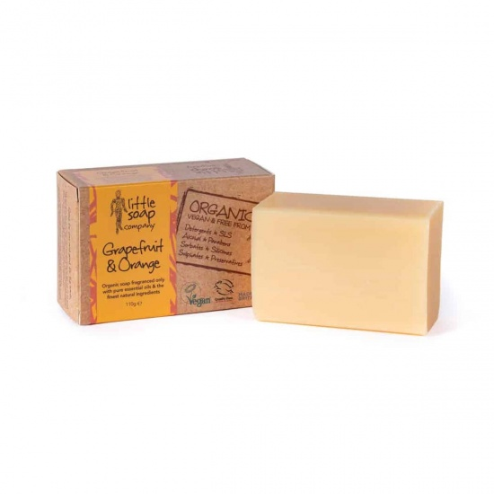 Organic Grapefruit & Orange Soap