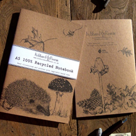 Hubbard & Reenie Hedgehog Notebook