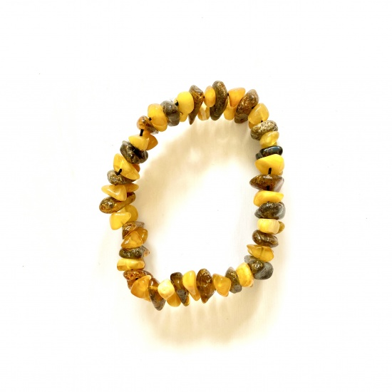 Natural Amber Bracelet - mutlicoloured