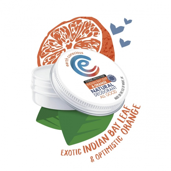 Indian Bay Leaf & Orange Deodorant