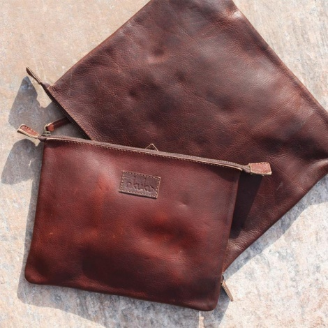 Pambia Nkuku Leather Bag