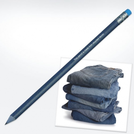 Promotional Recycled Denim Pencil
