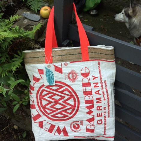 Hop Sack Shopping Bag