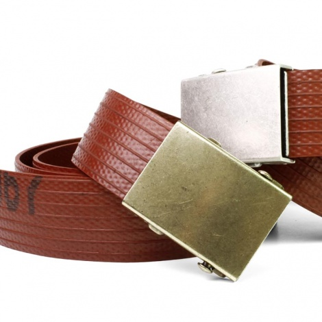 Elvis & Kresse Firehose Slider Belt