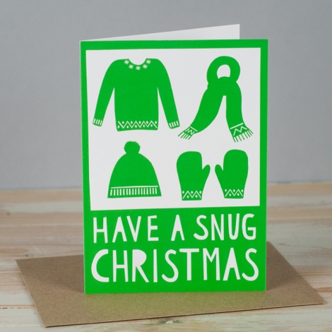 Have A Snug Christmas Card