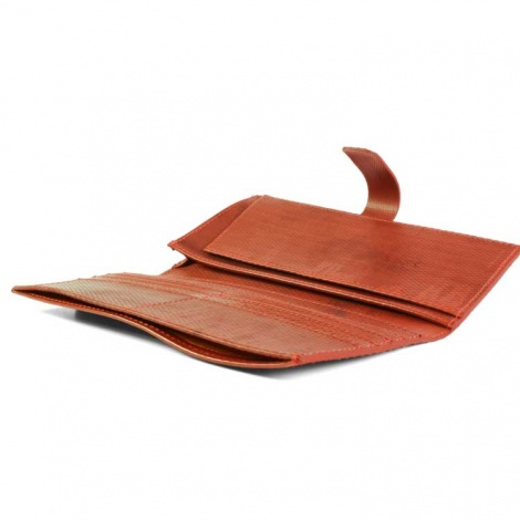 Recycled Firehose Document Wallet