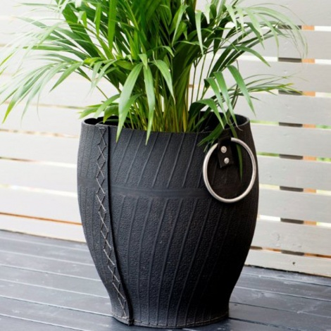 Recycled Tyre Planter
