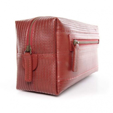 Recycled Firehose Washbag