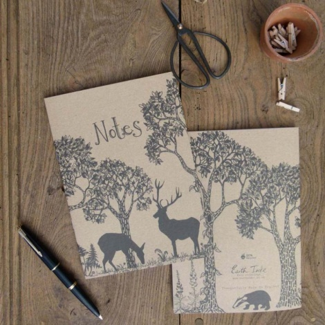 Hubbard & Reenie Woodland Notebook