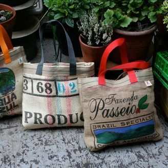 Coffee Sack Shopping Bag