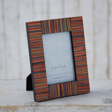Colourful Fair Trade Photo Frame