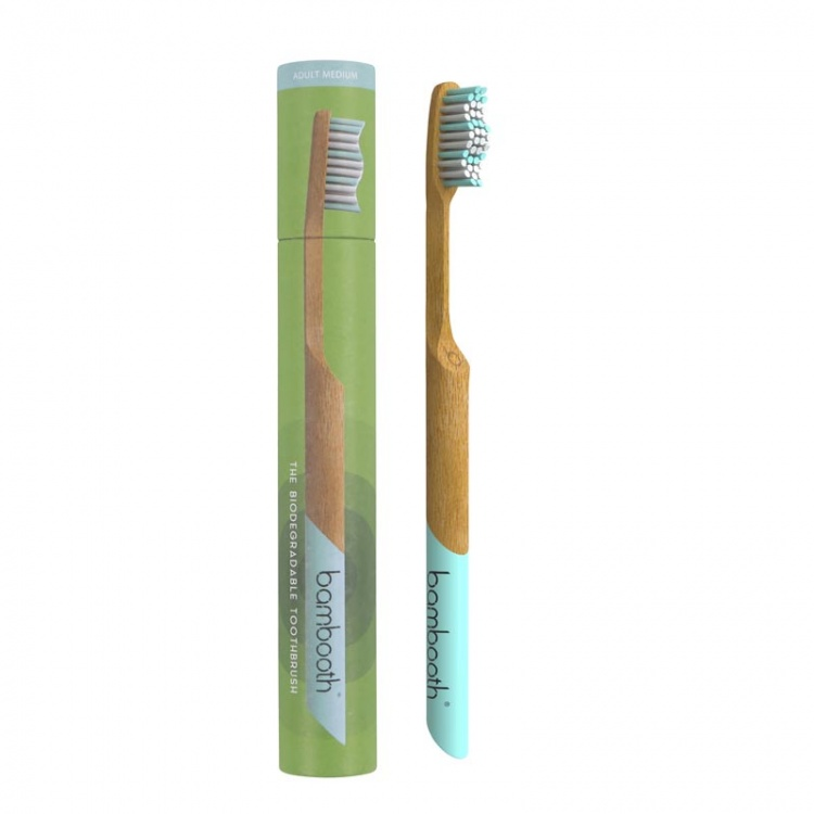 Bambooth Marine Blue  Bamboo Toothbrush