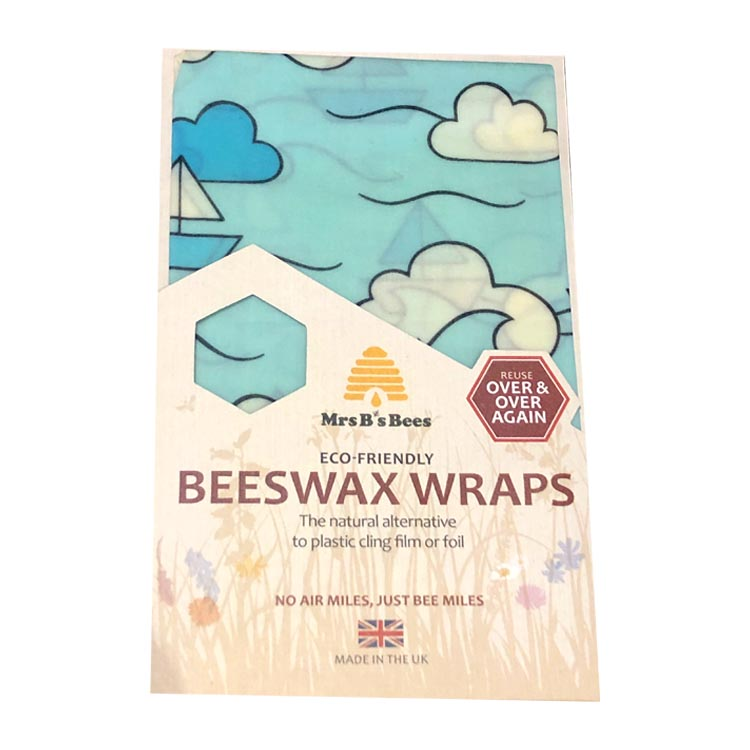 Blue Boats Beeswax Food Wrap